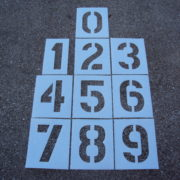 Parking Lot Number Stencils & KITS