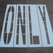 Department of Transportation DOT Stencils