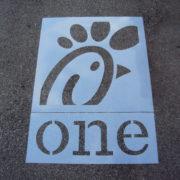 Restaurant & Retail Chain Store Stencils